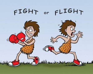 The urge to fight or flight can be overcome by asking the right questions.