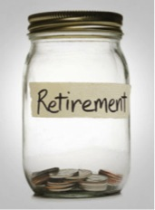 Only 58% of the population is saving for retirement.